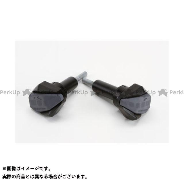 【無料雑誌付き】Puig 隼 ハヤブサ スライダー類 クラッシュパッド R12-TYPE カラー:ブラック プーチ