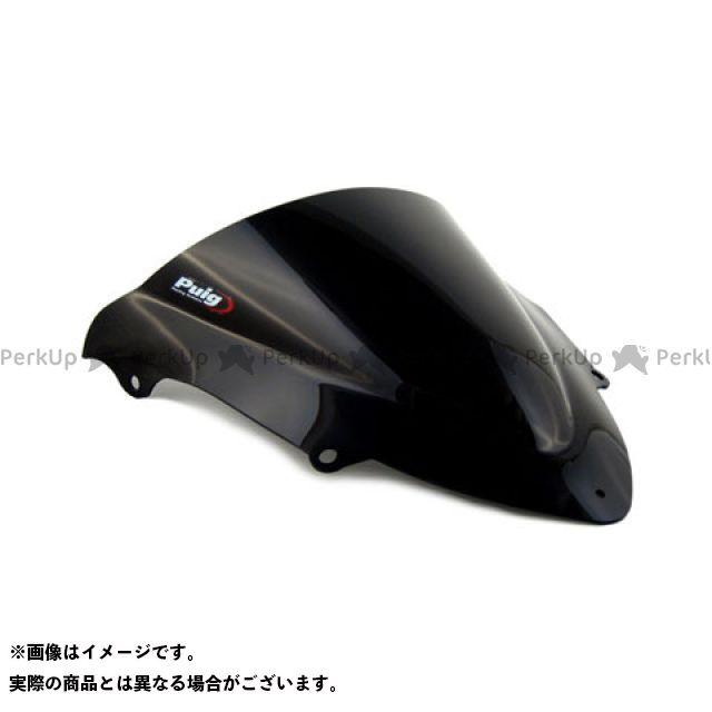 【エントリーで更にP5倍】Puig GPR 125 スクリーン関連パーツ レーシングスクリーン カラー:ブラック プーチ
