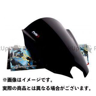 【エントリーで更にP5倍】Puig XJ6ディバージョンF スクリーン関連パーツ レーシングスクリーン カラー:ブラック プーチ