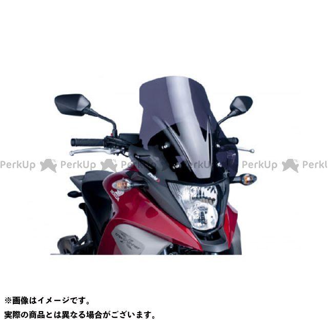 【エントリーで更にP5倍】Puig VFR800X クロスランナー スクリーン関連パーツ ツーリングスクリーン カラー:ダークスモーク プーチ