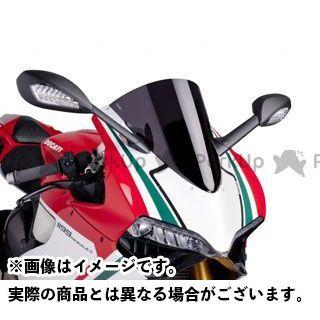 【エントリーで更にP5倍】Puig 1199パニガーレ スクリーン関連パーツ レーシングスクリーン カラー:ブラック プーチ