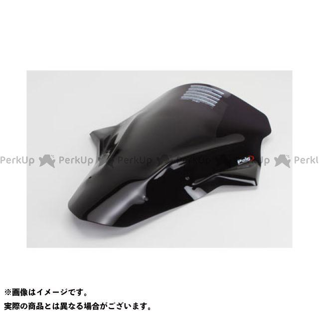 【エントリーでポイント10倍】 プーチ ER-6f スクリーン関連パーツ レーシングスクリーン ブラック