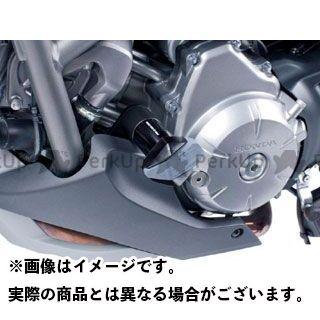 Puig NC700S NC700X NC750S スライダー類 クラッシュパッド R12-TYPE カラー:ホワイト プーチ