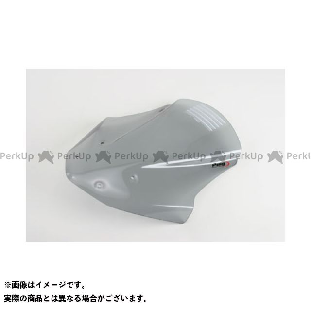 Puig NC700S スクリーン関連パーツ ツーリングスクリーン カラー:ブラック プーチ