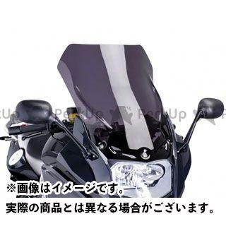 Puig F800GT スクリーン関連パーツ ツーリングスクリーン カラー:ブラック プーチ