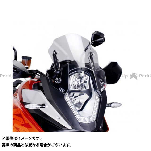 【エントリーでポイント10倍】 プーチ 1190アドベンチャー スクリーン関連パーツ レーシングスクリーン クリア
