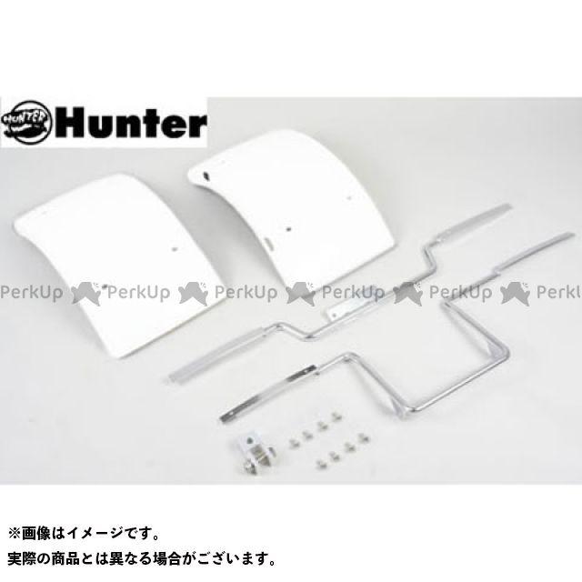 【エントリーで最大P21倍】Hunter ジャイロキャノピー ジャイロX フェンダー ジャイロ用 ワイドフェンダーセット カラー:ホワイト ハンター