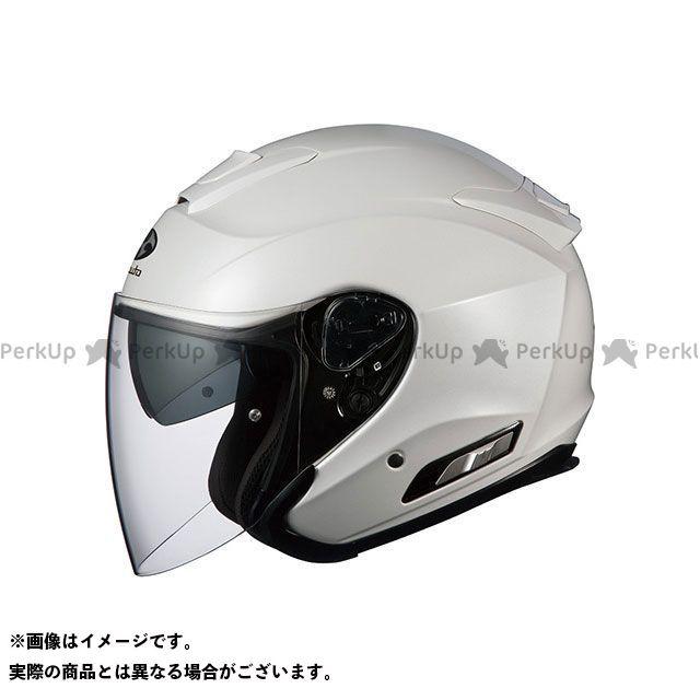 送料無料 OGK KABUTO オージーケーカブト ジェットヘルメット ASAGI(アサギ) パールホワイト XS/54-55cm