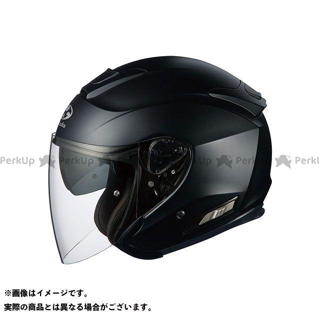 送料無料 OGK KABUTO オージーケーカブト ジェットヘルメット ASAGI(アサギ) フラットブラック XS/54-55cm