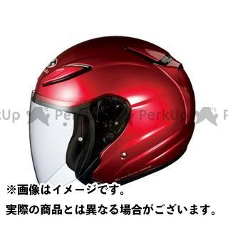 送料無料 OGK KABUTO オージーケーカブト ジェットヘルメット AVAND-II(アヴァンド・ツー) シャイニーレッド L/59-60cm未満