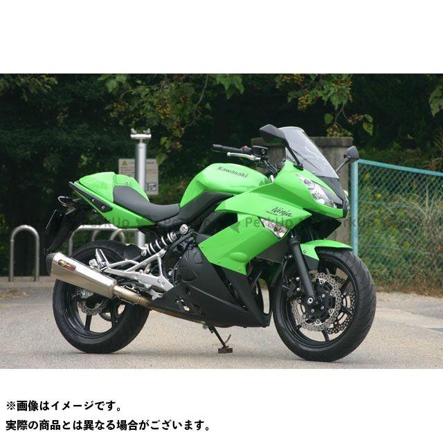【エントリーで更にP5倍】NOJIMA ER-4n ニンジャ400R マフラー本体 LOCK-ON S/O ノジマ