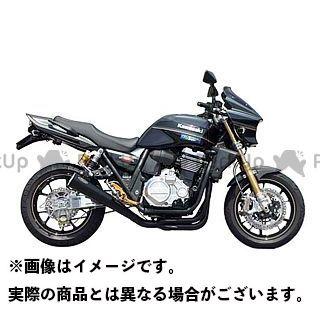 NOJIMA ZRX1200ダエグ マフラー本体 ノジマメガホン 4-1SC ステン/BLK ノジマ