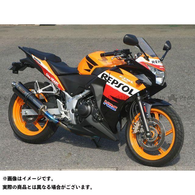 NOJIMA CBR250R マフラー本体 DLC-TITAN FULL-EX