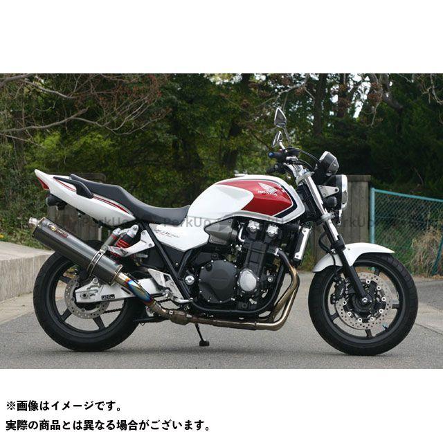 NOJIMA CB1300スーパーボルドール CB1300スーパーフォア(CB1300SF) マフラー本体 FASARM GT S/O DLC-TITAN  ノジマ