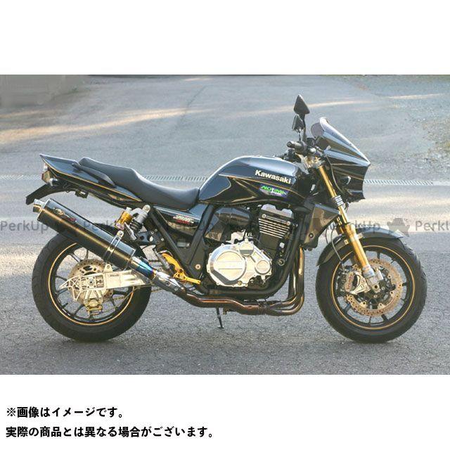 【エントリーで更にP5倍】NOJIMA ZRX1200ダエグ マフラー本体 FASARM GT S/O DLC-TITAN ノジマ