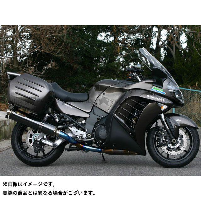 NOJIMA 1400GTR・コンコース14 マフラー本体 DLC-TITAN S/O