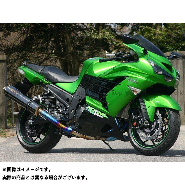 NOJIMA ニンジャZX-14R マフラー本体 DLC-TITAN TYPE-SC SINGLE ノジマ