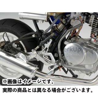 ティーティーエス エイプ50 バックステップ関連パーツ レーシングステップキット TTS