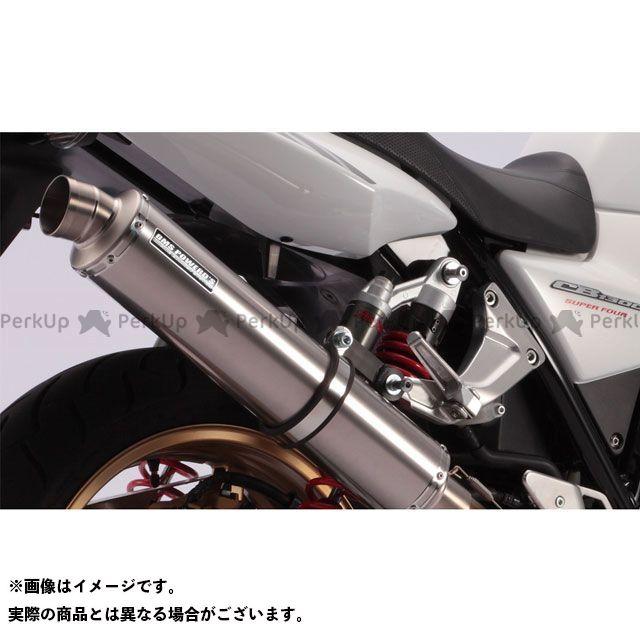 BMS RACING FACTORY CB1300スーパーボルドール CB1300スーパーフォア(CB1300SF) マフラー本体 R-EVO フルエキ JMCA サイレンサー:チタンソリッド BMS