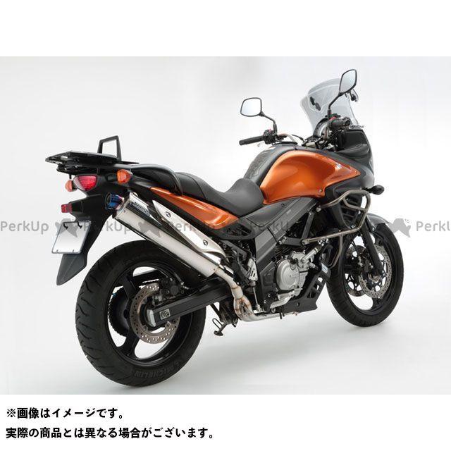 【無料雑誌付き】BMS RACING FACTORY Vストローム650 マフラー本体 T-EVO OVAL BMS