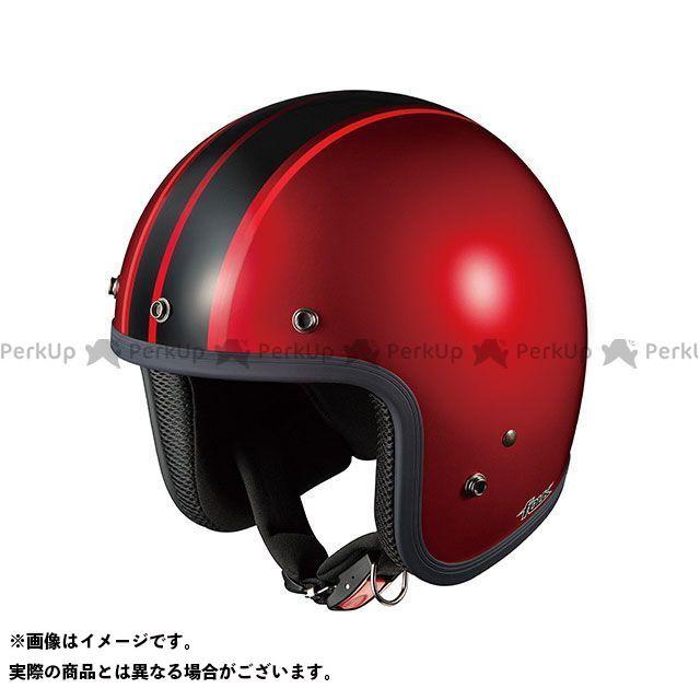送料無料 OGK KABUTO オージーケーカブト ジェットヘルメット FOLK G1(フォーク G1) シャイニーレッド/ブラック
