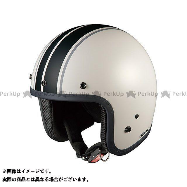 送料無料 OGK KABUTO オージーケーカブト ジェットヘルメット FOLK G1(フォーク G1) フラットホワイト/ブラック