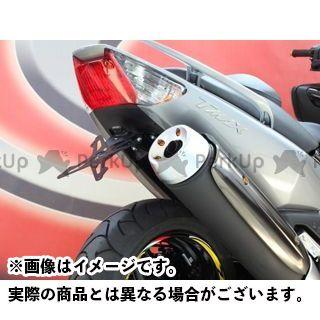 EVOTECH TMAX500 その他外装関連パーツ ナンバープレートホルダー YAMAHA T-MAX(09-) フェンダーレスキット 仕様:ホルダー単品 エボテック