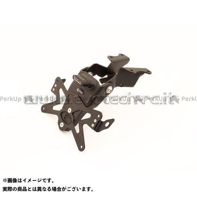 EVOTECH MT-09 その他外装関連パーツ ナンバープレートホルダー YAMAHA MT-09(14-16) フェンダーレスキット 仕様:ホルダー単品 エボテック