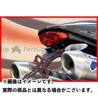 EVOTECH モンスター696 その他外装関連パーツ ナンバープレートホルダー Ducati Monster696 フェンダーレスキット 仕様:ホルダー単品 エボテック