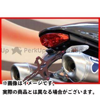 EVOTECH モンスター1100 モンスター796 その他外装関連パーツ ナンバープレートホルダー Ducati Monster1100/Monster796 フェンダーレスキット 仕様:ホルダー単品 エボテック