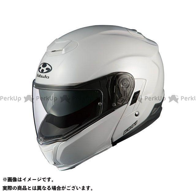 送料無料 OGK KABUTO オージーケーカブト システムヘルメット(フリップアップ) IBUKI(イブキ) パールホワイト XL/61-62cm未満