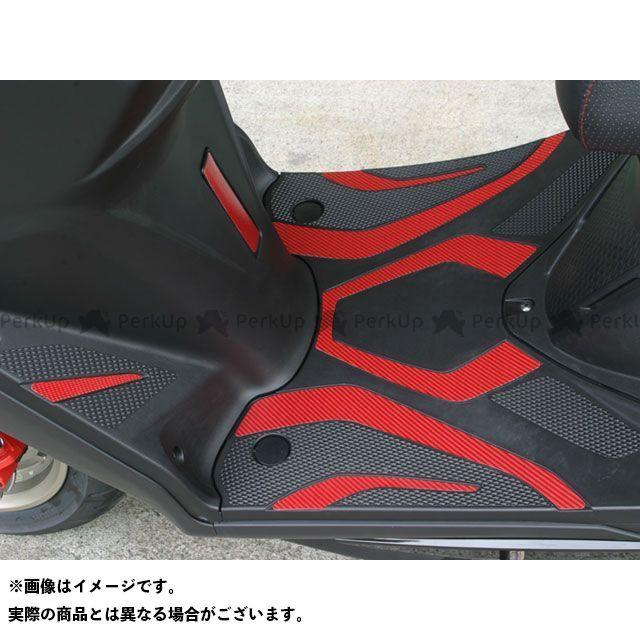 ADIO シグナスX SR ドレスアップ・カバー SBカーボンシート カラー:レッド アディオ
