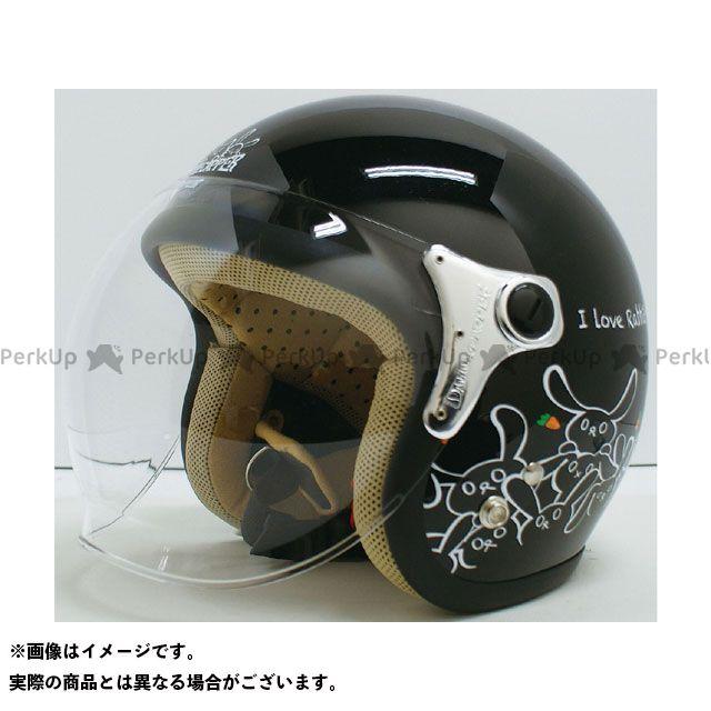 ダムトラックス レディース・キッズヘルメット CARINA(カリーナ) レディースフリー/57-58cm カラー:ブラック/ラビット ダムトラ