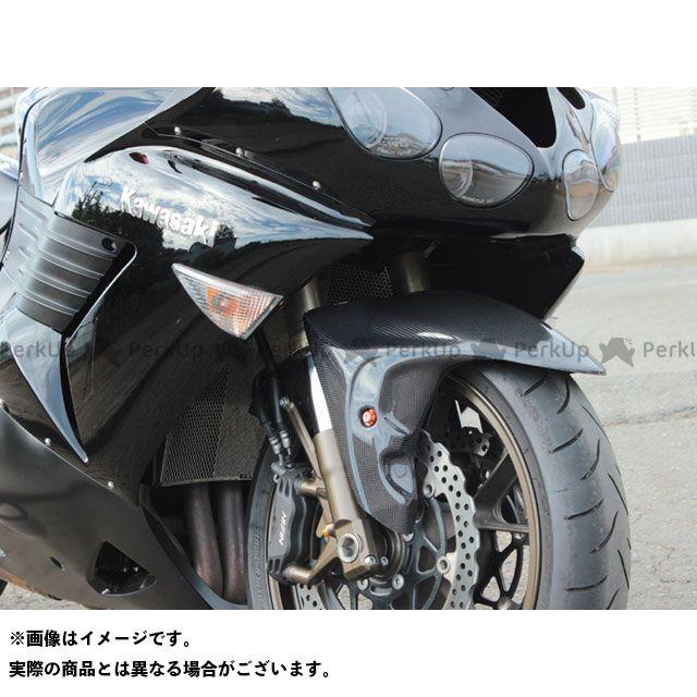 POSH Faith ニンジャZX-14R ZZR1400 フェンダー 3D-TECH フロントフェンダー カラー:ブラックゲルコート ポッシュフェイス