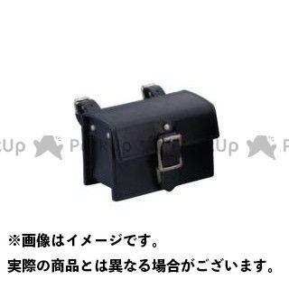KIJIMA ツーリング用バッグ クラシックツールバッグ スモール(本革) カラー:ブラック キジマ