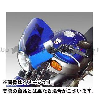 ISOTTA エックスイレブン スクリーン関連パーツ HONDA X11 ウインドシールド ブルー ブルー イソッタ