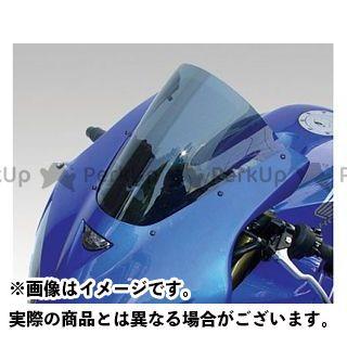 【エントリーで更にP5倍】ISOTTA CBR600RR スクリーン関連パーツ HONDA CBR600RR 2005年 ウインドシールド ダブル バブル(クリアー) カラー:ブルー イソッタ