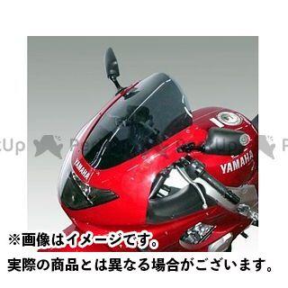 ISOTTA その他のモデル スクリーン関連パーツ YAMAHA YZF Thunder-cat 1996-2001年 ウインドシールド エアーフロー クリアー