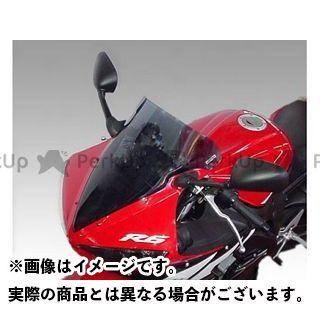 ISOTTA YZF-R6 スクリーン関連パーツ YAMAHA R6 2003-2004年 ウインドシールド エアーフロー ブルー