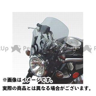 ISOTTA グリーゾ1100 スクリーン関連パーツ MOTO GUZZI Griso 850/1100 ウインドシールド エキストラ ラージ ライト・グレー