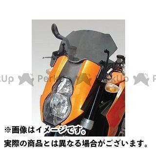 【エントリーで更にP5倍】ISOTTA 990スーパーデューク 990スーパーデュークR スクリーン関連パーツ KTM 990 Superduke/R ウインドシールド サマー カラー:オレンジ イソッタ