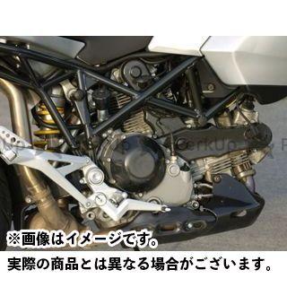 ILMBERGER ムルティストラーダ その他 マフラーカバー・ヒートガード Ducati Multistrada用 サイドヒートガード イルムバーガー