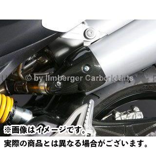 ILMBERGER モンスター1100 モンスター696 マフラーカバー・ヒートガード Ducati 696/1100 Monster用 ヒートガード 仕様:左側 イルムバーガー