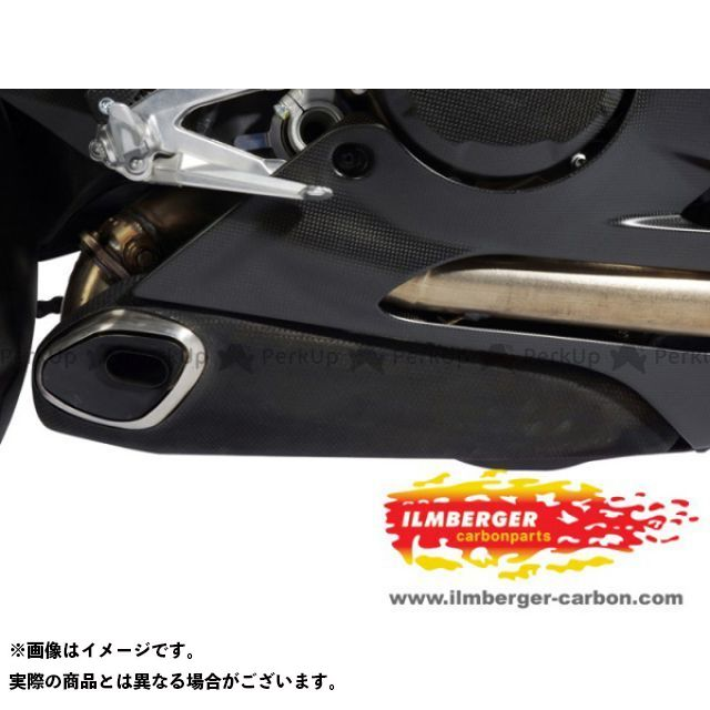 ILMBERGER 1199パニガーレ マフラーカバー・ヒートガード Ducati 1199 Panigale セラミックエキゾーストヒートカバー 仕様:右 イルムバーガー