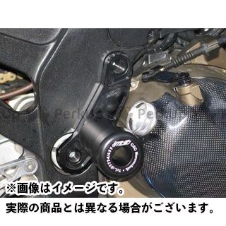 【エントリーで最大P21倍】GSG Mototechnik ニンジャZX-12R スライダー類 crashpad set with black aluminium fitting plate GSGモト