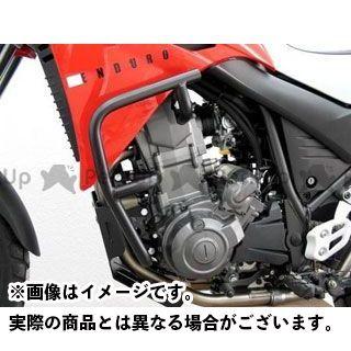 FEHLING XT660R エンジンガード オフロード プロテクションガード(ブラック)