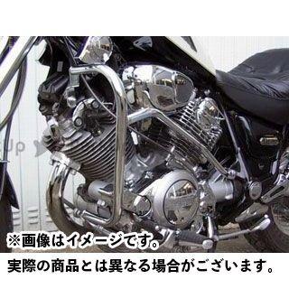 FEHLING XV1100ビラーゴ XV750スペシャル エンジンガード プロテクションガード ペア フェーリング