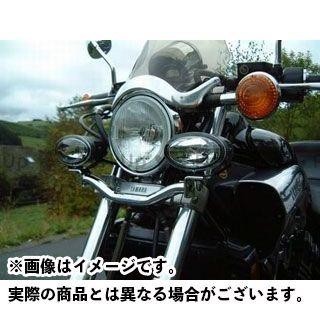 FEHLING XV1100ビラーゴ XV750スペシャル 電装ステー・カバー類 ライトバー 後付ヘッドライト用