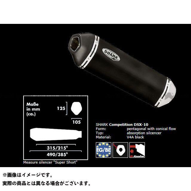 【エントリーで最大P23倍】SHARK ニンジャZX-9R マフラー本体 KAWASAKI ZX-9R(00-01) スリップオンサイレンサー DSX-10 ステンレスブラック シャーク