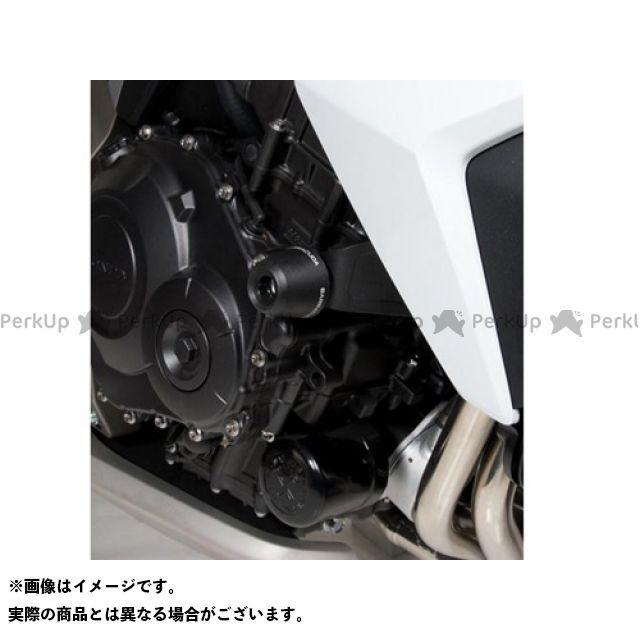 BARRACUDA CB1000R スライダー類 クラッシュパッド コンプリートキット 左右セット/CB 1000 R (08-11) バラクーダ
